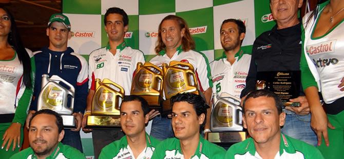 Castrol premia a sus campeones