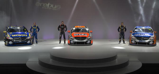 Presentan los nuevos Mercedes para el V8 Supercars