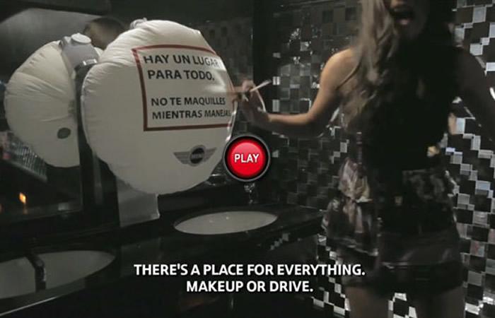 """Video : MINI le dice a las mexicanas """"No te maquilles mientras conduces"""""""