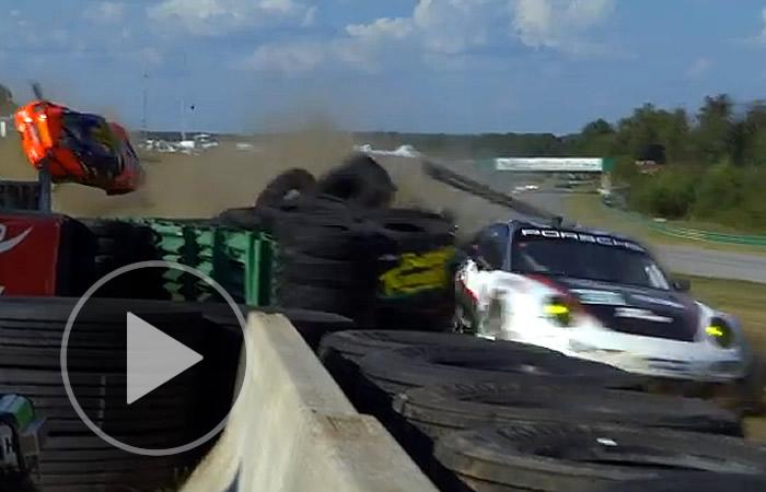 Espectacular accidente en la AMLS en Virginia