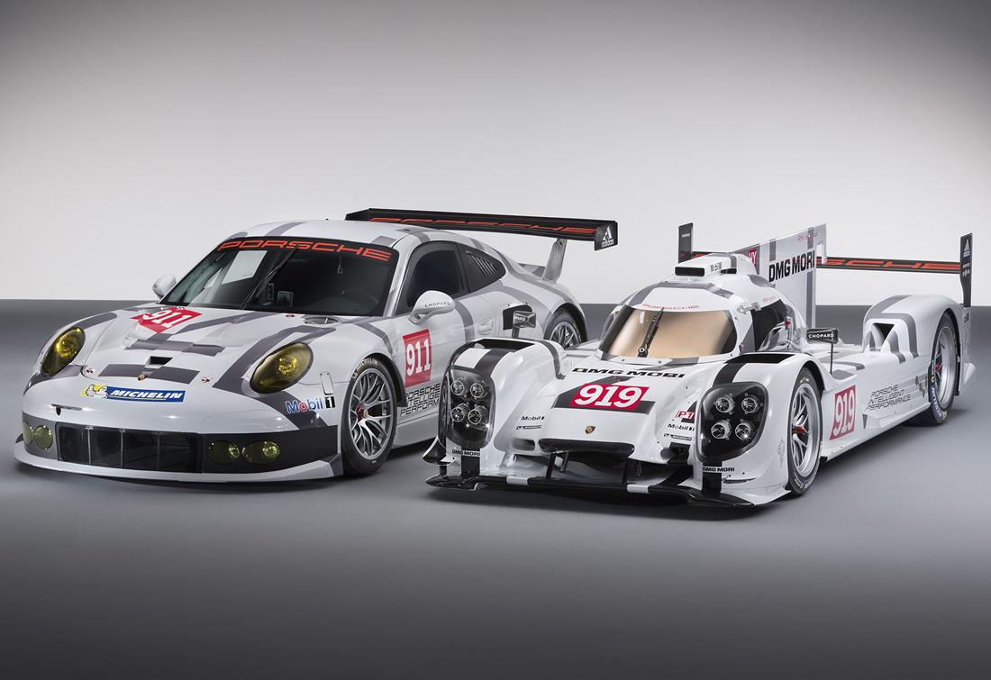 Porsche presenta sus 919 Hybrid y el 911 RSR