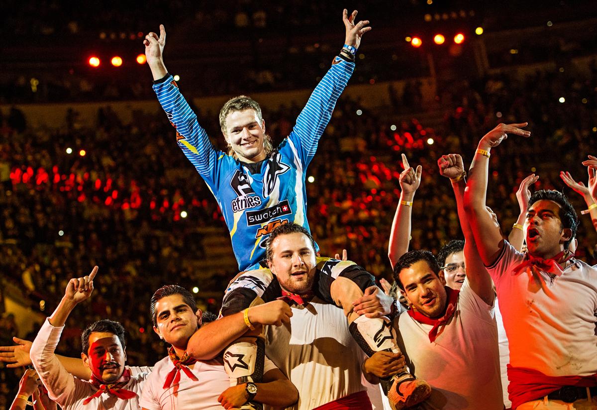 Sherwood vencedor en Red Bull X-Fighters México