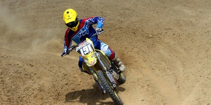 Roberto Castro campeón en el motocross de Guatemala
