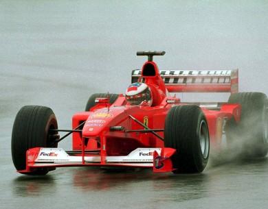 La mujer de Schumacher vende la Ferrari del tercer título de su marido