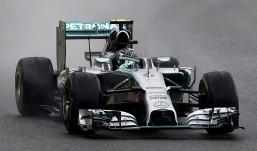 Rosberg gana en Bélgica su séptima 'pole' del año