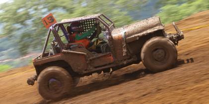 Umaña y Solano dominaron la segunda fecha del Autocross