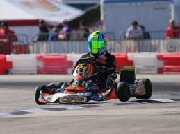 Andrés Fonseca clasifica al mundial de kartismo Rotax