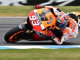 Márquez suma su pole 12 del año en Phillip Island
