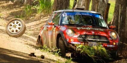 Video, accidente de Wilson y Pereira en el Rally Solimar