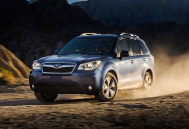 Subaru Forester gana premio por economía de combustible