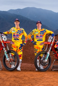 Fox  anuncia patrocinio del Equipo Red Bull KTM USA Factory Racing 250 Team