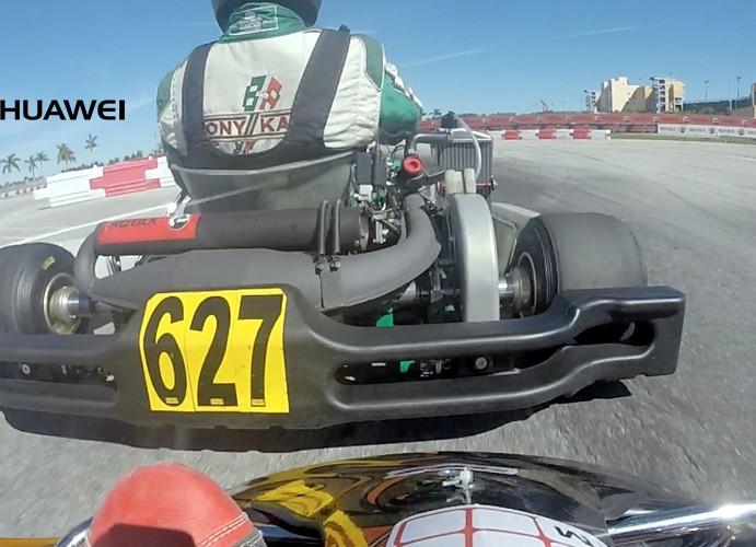 Final Rotax Max Master en Homestead desde el kart de Charlie Fonseca