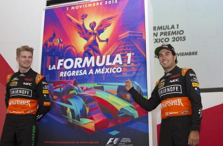 Cuenta regresiva para el Gran Premio de México