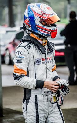 Mauricio Hernández hoy en Monza, Italia.