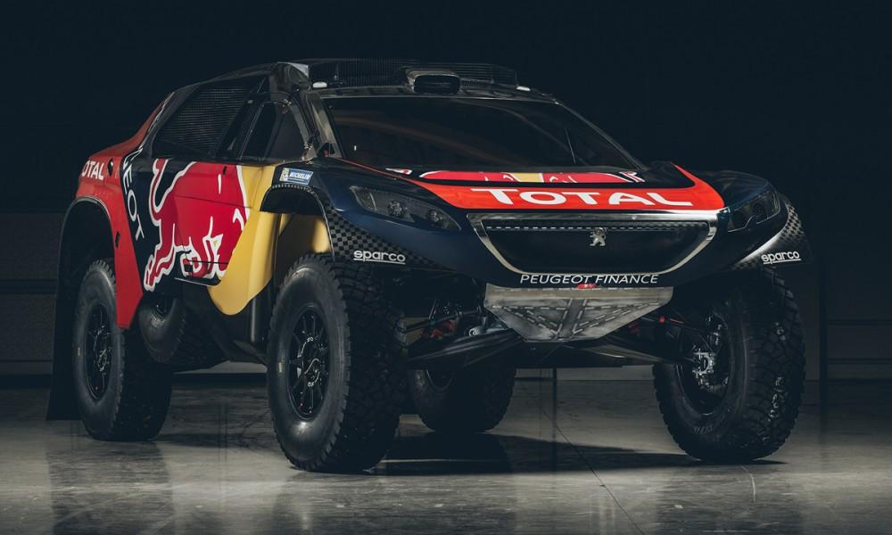 Peugeot presenta los colores de su nuevo auto para el Rally Dakar