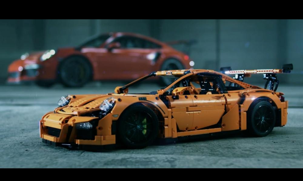 El nuevo Porsche 911 GT3 RS de Lego