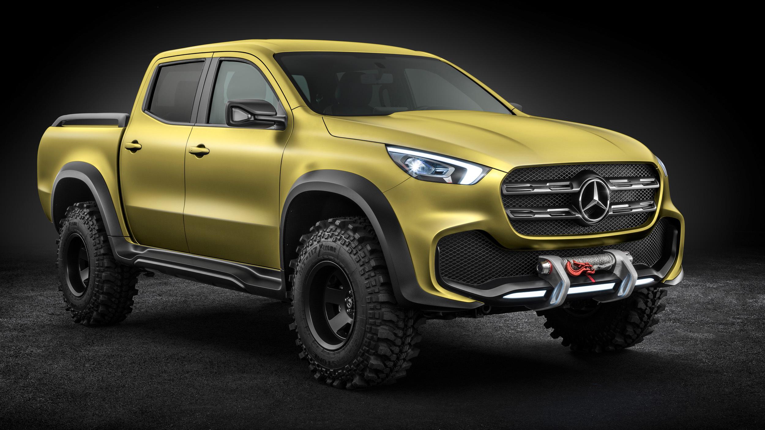 Mercedes Benz presentó su nuevo pick up