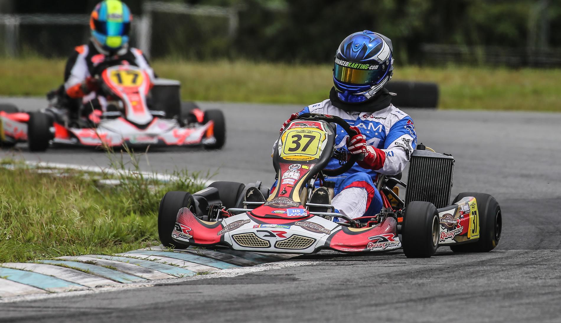 Formal y Zecchinato a paso firme en el kartismo