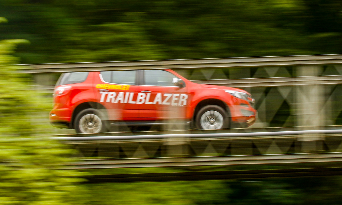 La potencia y comodidad de la nueva Chevrolet Trailblazer