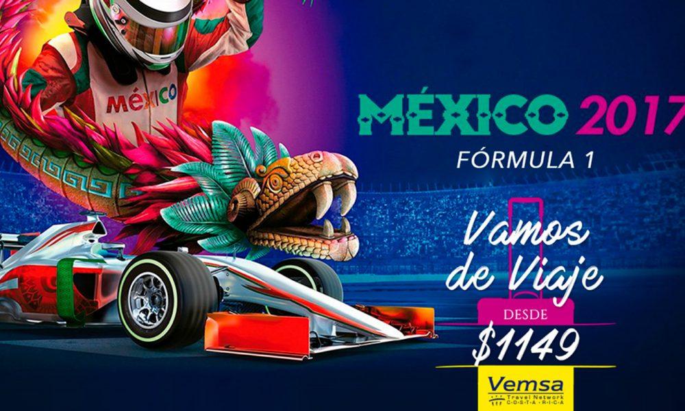 Viaja al Gran Premio de México con VEMSA