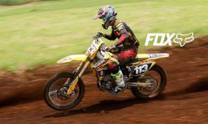 Justin Alvarado piloto de motocross
