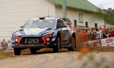 Thiery Neuville ganó el Rally de Australia