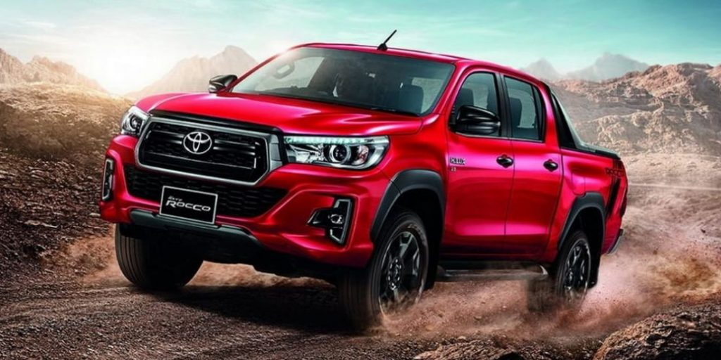 El Toyota Hilux tiene nueva cara en el mercado asiático