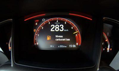 De 0 a 283 kilómetros por hora en el Honda Civic Type R