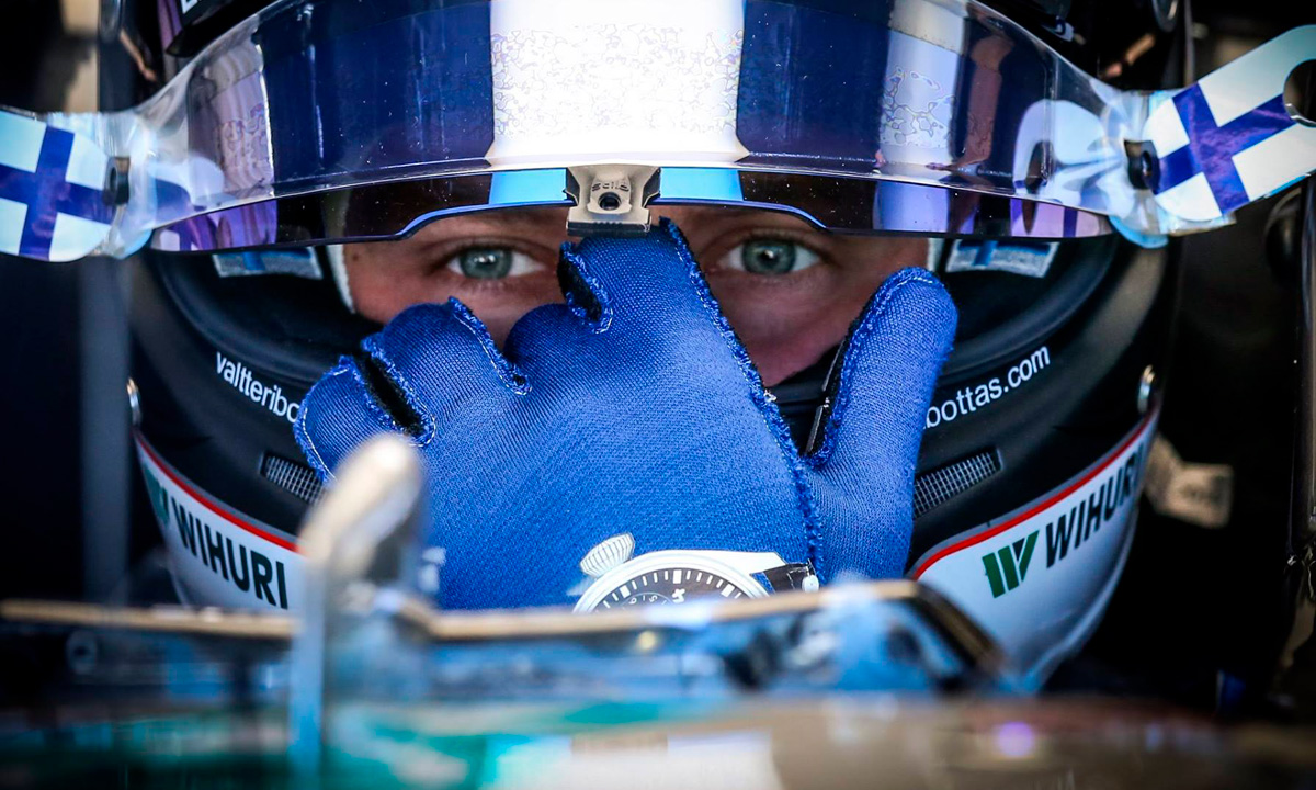 Bottas tiene la pole en el Gran Premio de Brasil