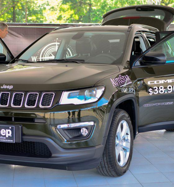 Nuevo Jeep Compass 2018 ya disponible en AutoStar