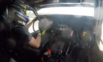 """Así conduce su """"Miura"""" el piloto Johnny Alfaro en el autocross"""