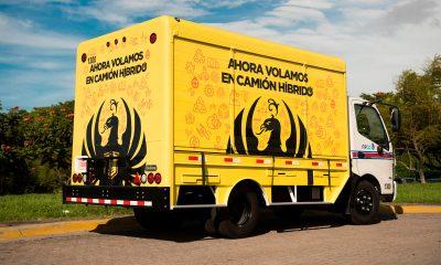 FIFCO adquiere su primer camión hibrido para distribución