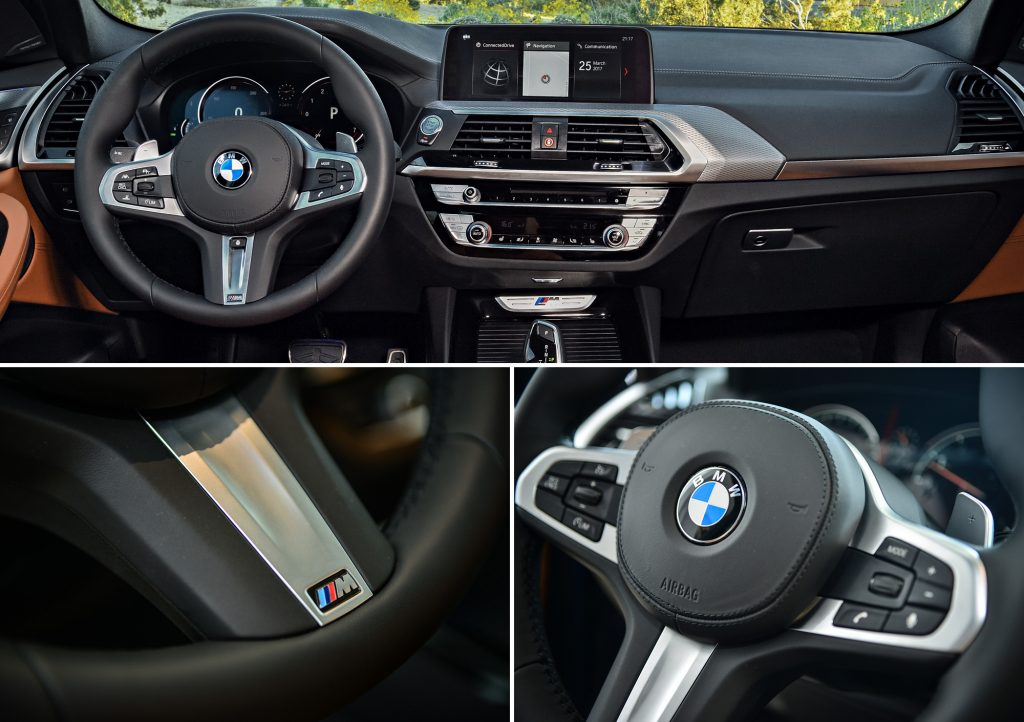 Interior del BMW X3