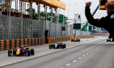 El GP de Macao tuvo un final impresionante