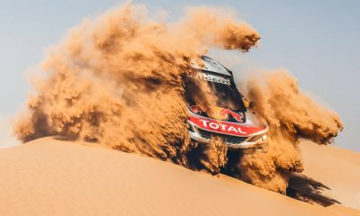 VIDEO : Peugeot prueba su 3008DKR de cara al Rally Dakar