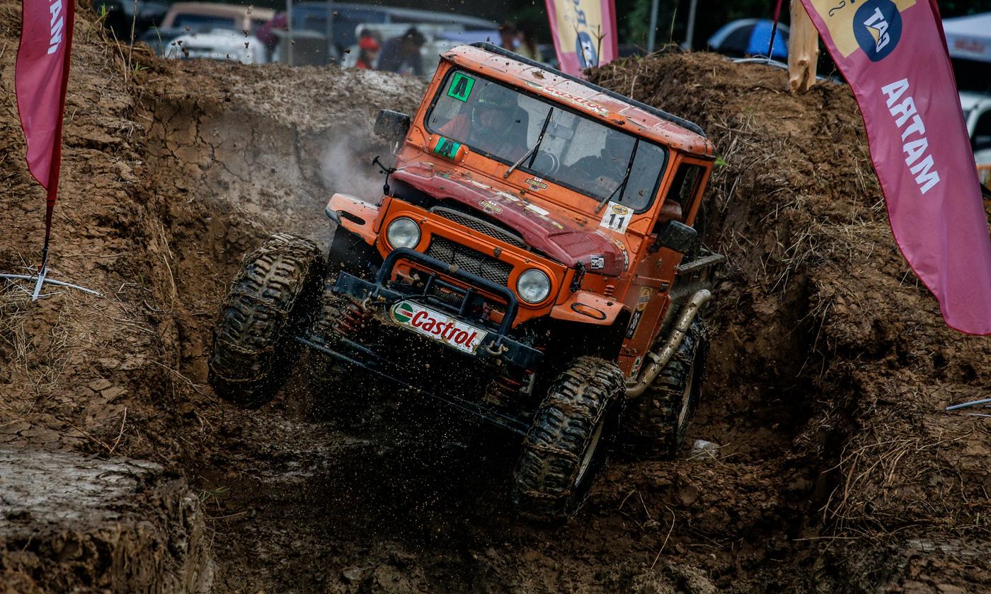 Galería de fotos del Autocross, Stock Race y Desafío 4x4 2017