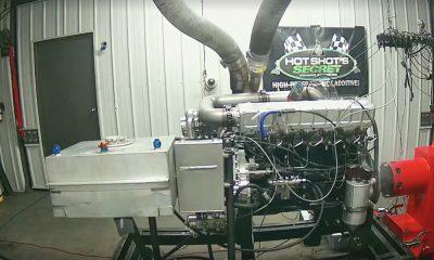 La explosión de un motor más violenta que vas a ver en banco de pruebas