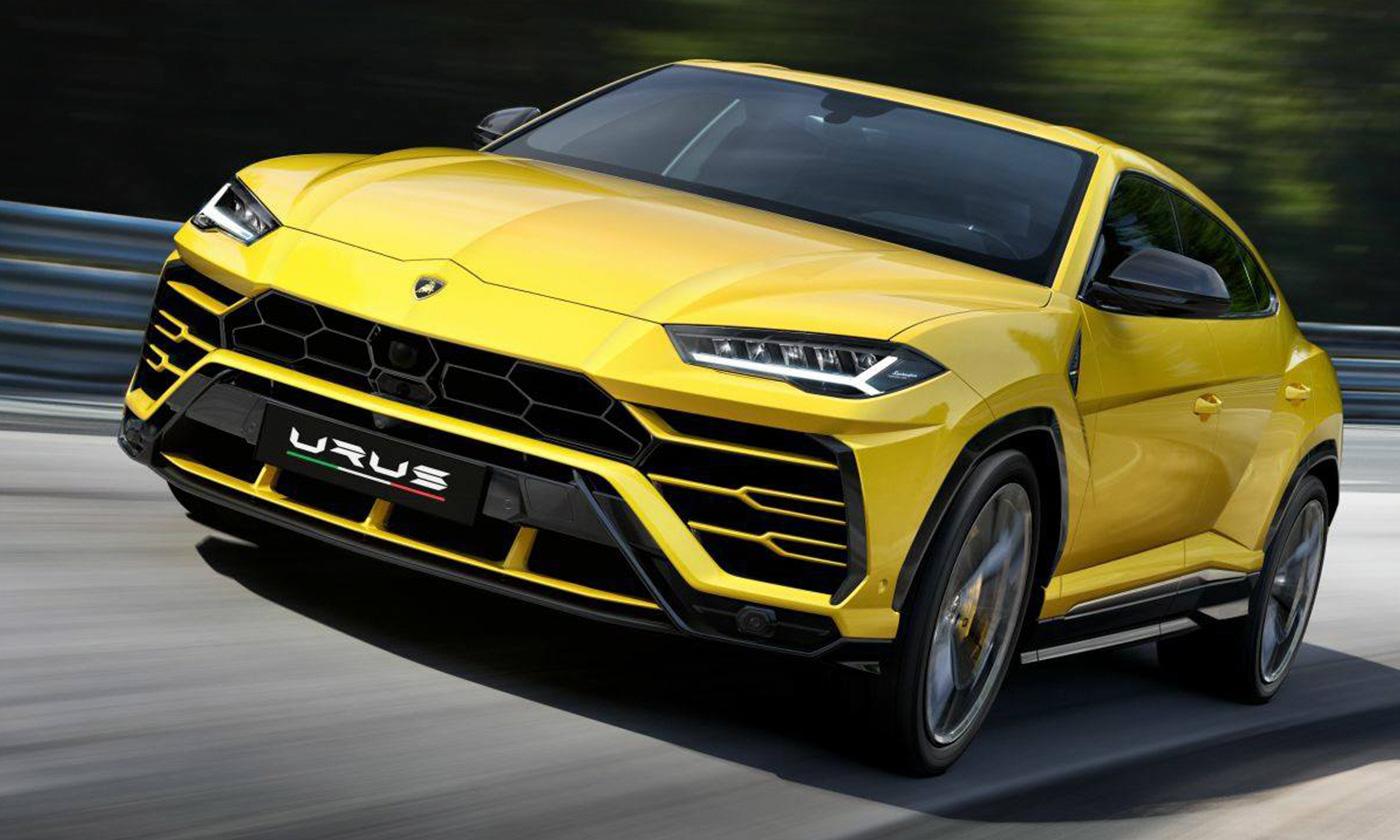 Lamborghini presentó el Urus, el primer SUV de su historia