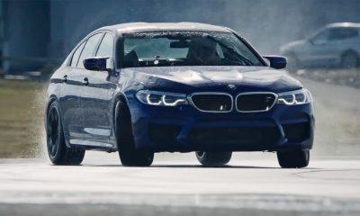 BMW logra récord Guinness derrapando 374 kilómetros