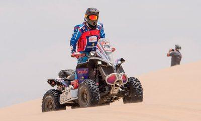 Christian Massey completó el Rally Dakar 2018