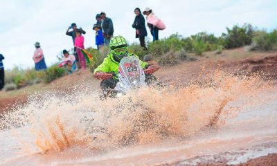 Massey supera la etapa ocho del Dakar sufriendo