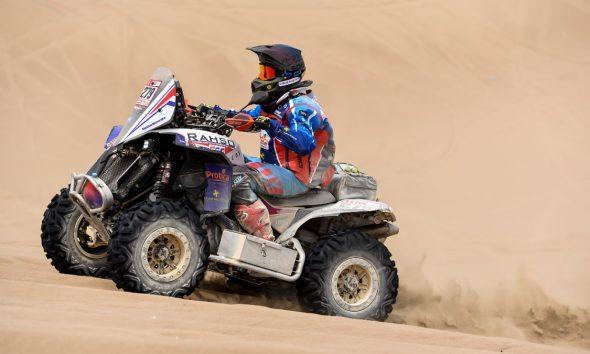 Massey superó la tercera etapa del Rally Dakar