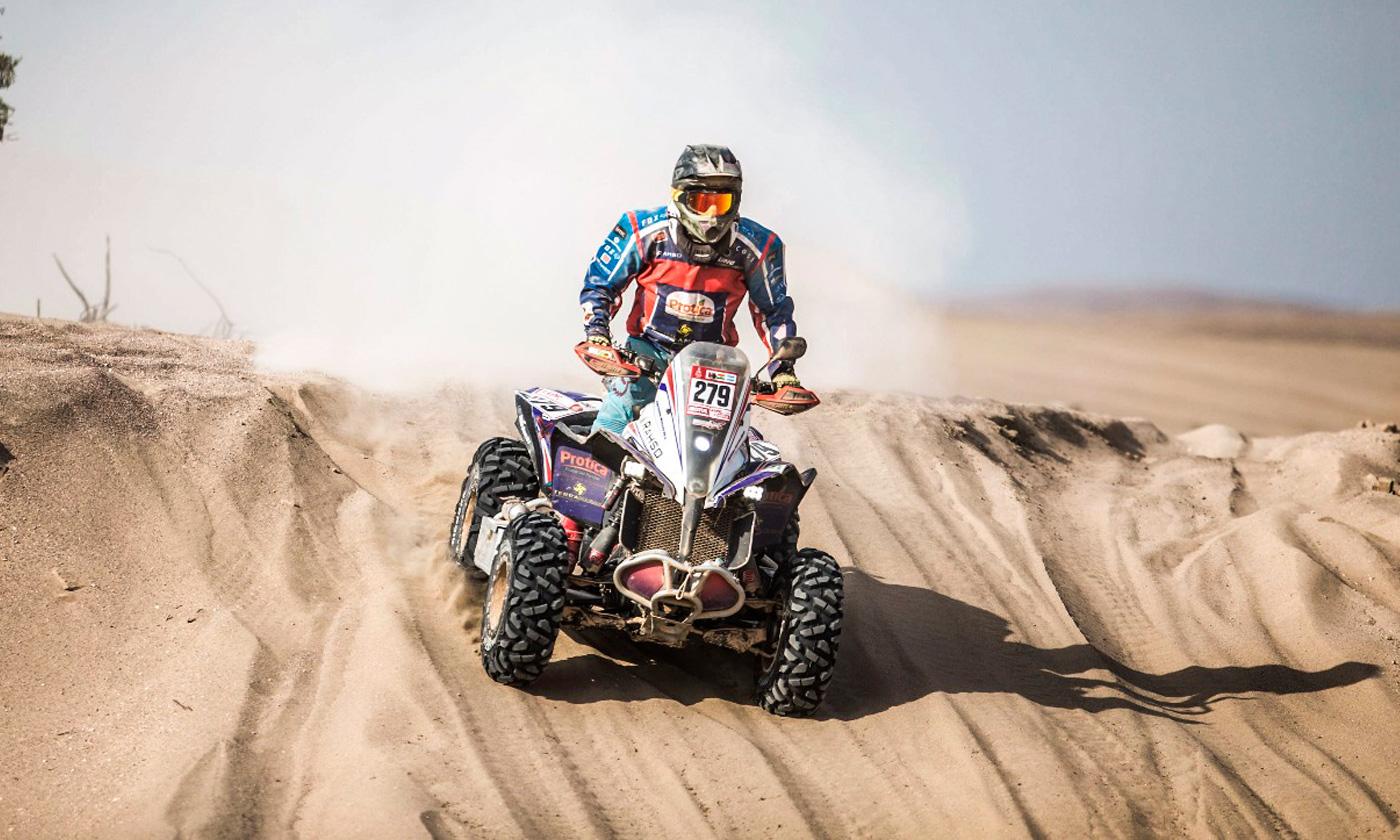 Massey acumula más de 2.274 kilómetros en el Rally Dakar