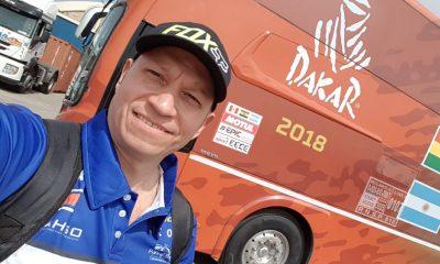 Por primera vez un tico se enfrenta al difícil Rally Dakar