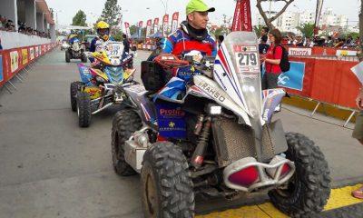 Massey completo su primera etapa en el Rally Dakar con éxito