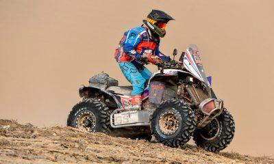 Massey cumple con los 330 kilómetros de la cuarta etapa del Rally Dakar