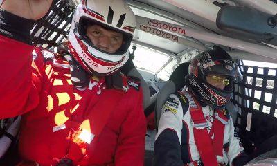 """Mauricio """"Chunche"""" Montero en el Toyota Experience"""