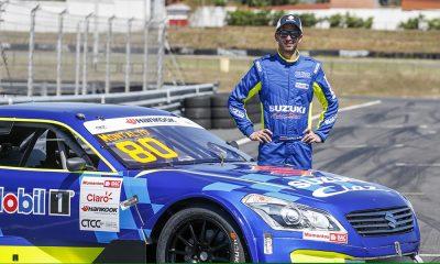 Suzuki presenta a su nuevo piloto José Andrés Montalto