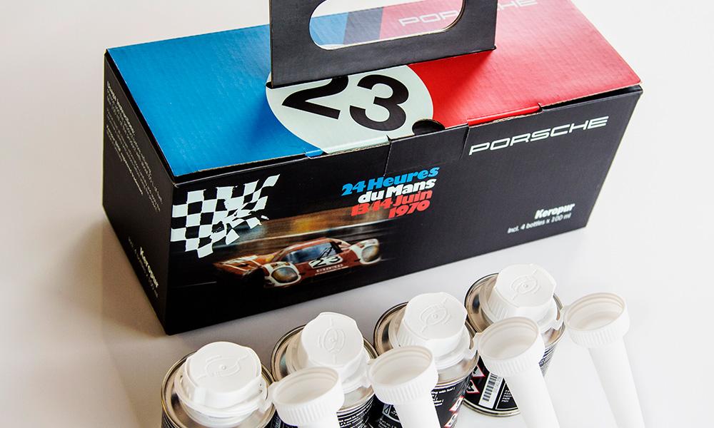 Porsche presenta en Costa Rica su aditivo Keropur para motores de gasolina