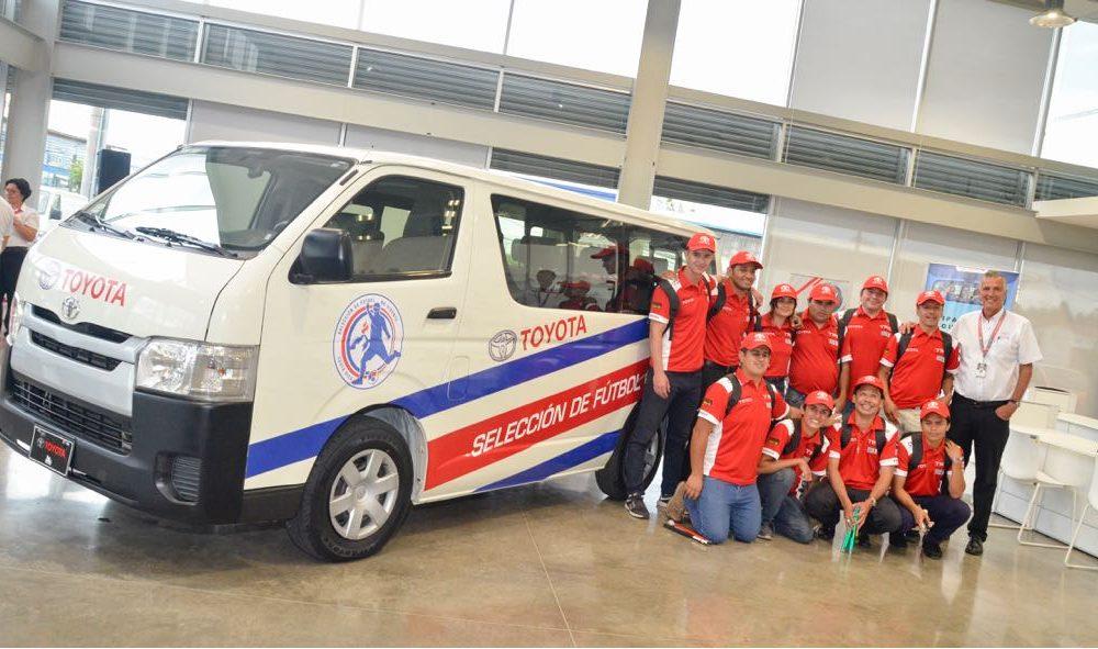 Grupo Purdy Motor brinda apoyo a la Selección de Fútbol no vidente de Costa Rica